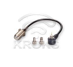 Пигтейл универсальный (кабельная сборка) CRC9, TS9-F (female)
